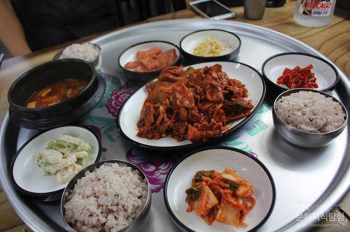 안동맛집(안동대 맛집) 상수리식당