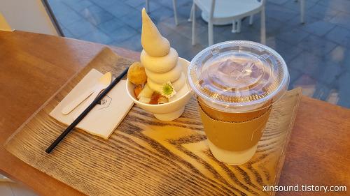 광교 아브뉴프랑 소복 색다른 아이스크림!