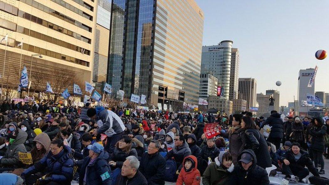 박근혜 탄핵 구속 촉구 16차 촛불집회
