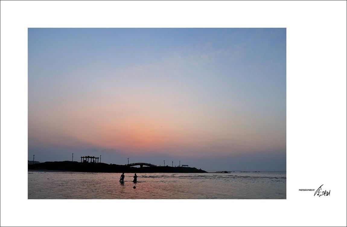 [제주] 함덕서우봉 해변 일몰경