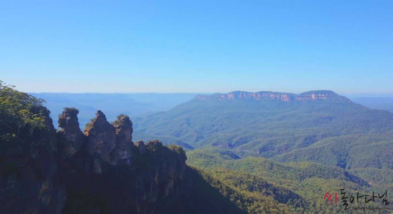 시드니 여행 D+2: 눈부신 푸른빛의 호주 블루마운틴(Blue Mounta..