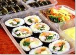 한줄이면 배가부른 왕김밥 - 김밥 도시락