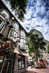 삼각형 건물 - 캐나다 밴쿠버 시내 구경