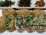 간단하고 맛있는 봄철별미밥, 봄나물유부밥~