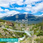 캐나다 유콘여행 : 슬릴 넘치는 서스펜션 브릿지 & 클리프사이드 레스토랑   Yukon Suspension Bridge