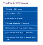 C#.1 Visual Studio 2010 다운로드