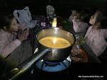 한국과 달라도 너무 다른 개념의 스페인 캠핑-등산 요리