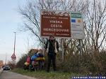 자전거 세계여행 ~2483일차 : 새해, 한파, 보스니아 헤르체고비나 그리고 크로아티아로