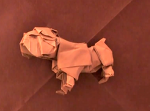 어려운 종이접기 불독