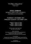 [뉴욕] 돌체앤가바나 샘플세일 Dolce & Gabbana Sample Sale (10월12일~10월15일)