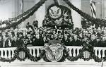 루스벨트, 대통령직에 네 번이나 당선되어 12년간 백악관을 차지했던 대통령