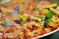 대전을 대표하는 3대 닭볶음탕(닭도리탕) 선택, 정식당