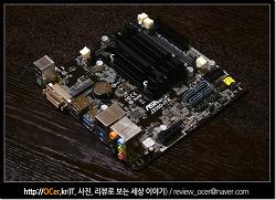 자작 NAS 구축 헤놀로지 위한 ASROCK J3160-ITX 메인보드 디앤디컴