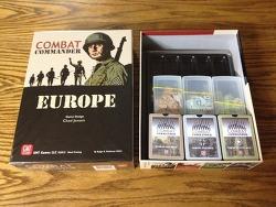 COMBAT COMMANDER - EUROPE 덱박스 제작 및 정리