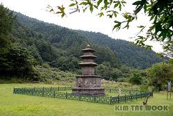 [강원 양양] 진전사지 삼층석탑 (국보 제122호)