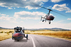 4억 5천만원에 판매 예정인 세계 최초의 비행 자동차 PAL-V Liberty