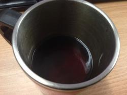 사무실에서 커피 즐기기