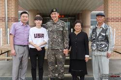 육군 2군단에서 만난 나라사랑 호국가족! 4대 병역이행 명문가!