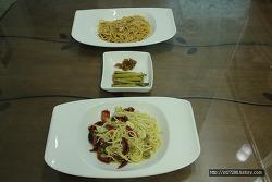 우엉차 만들기+ 마늘 조림+ 당근케이크 + 썬드라이드 토마토 파스타