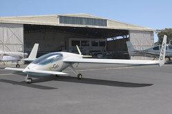 차고에 보관할 수 있는 1인승 소형비행기 e-Go
