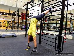 TRX 숄더푸쉬업으로 어깨근력 강화!