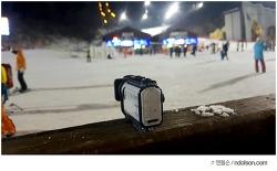 소니 액션캠 X3000 - 하이원 리조트 4K 촬영 후기