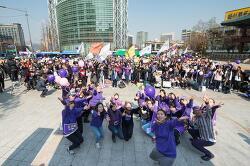 [현장사진] 3.8세계여성의 날 기념 2017페미니스트광장, 행진