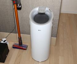 LG 공기청정기 필터 청소하고 깜짝 놀라다 미세먼지 얼마나 거를까