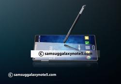 갤럭시 노트5 디자인이 걱정되는 이유 갤럭시 S6 확대판인가?
