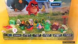2016년 6월 13일 맥도날드 해피밀 앵그리 버드 무비 2차 5종 세트 (McDonald's Happy Meal Toy Corea)