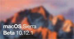 애플, macOS 시에라 10.12.1 베타 5 공개... 개발자 및 퍼블릭 베타 동시...