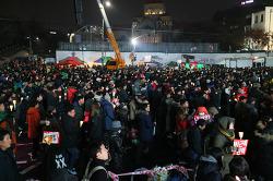 동영상으로 담은 박근혜 탄핵 촉구 촛불집회