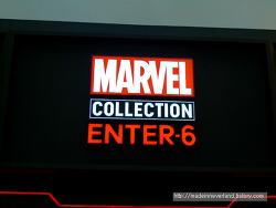 세계 최초 마블 공식 스토어, 마블 컬렉션 엔터식스 방문기!