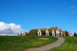아이슬란드 캠핑카 여행 3 일차 -Glaumbaer 잔디지붕마을 / Akyureyri 아쿠레이리 / Goda 폭포 / Storu-Laugar 캠핑장