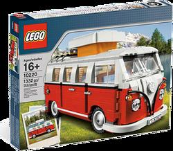 레고 레어템 10220 폭스바겐 캠퍼 밴 참 클래식한게 맘에 드네