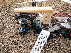 개구리 쿼드콥터 + 타롯짐벌 크레인 만들기