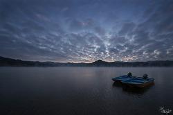 #137 물안개 핀 대청호의 겨울 풍경