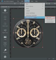기어 S3(Gear S3) 워치페이스 AOD 만들기.