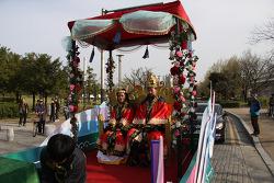 제41회 가야문화축제 개막 김해 수로왕 행차 시가행진