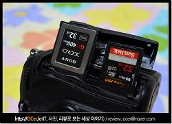SONY XQD 메모리 & 샌디스크 익스트림 프로 32GB 성능 비교 후기