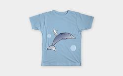 라이크 디즈 세번째 도전- 돌고래 티셔츠