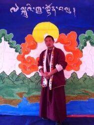 티베트 자유를 요구하며 1인 시위한 승려 '징역 3년형'