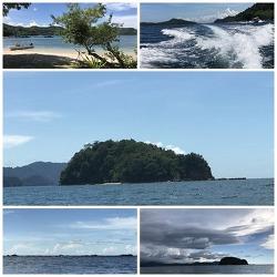 코타키나발루 여행 2일차-판단판단섬, 카와카와 강, 나나문해변