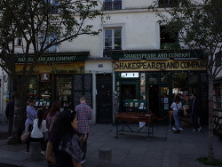 Paris, cafe Shakespeare and Company, 셰익스피어 & 컴퍼니