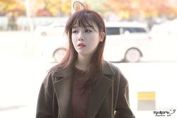[2017.11.08] 최화정의 파워타임 출퇴근 걸스데이 민아 직찍 by. 문스