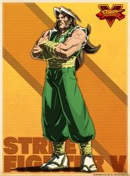 소문 : 스트리트 파이터5의 신캐릭터는 제쿠.