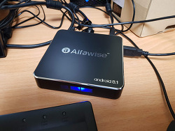 Alfawise A8 TV BOX Rockchip 3229 Android 8.1 후기