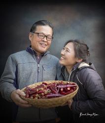 농부자존감, 칼라풀 영양 농부들. by 포토테라피스트 백승휴