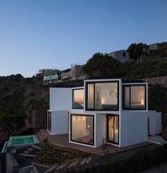 지중해의 놀라운 현대적 주택 디자인