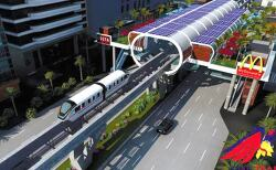 Firms to study 12-km monorail project